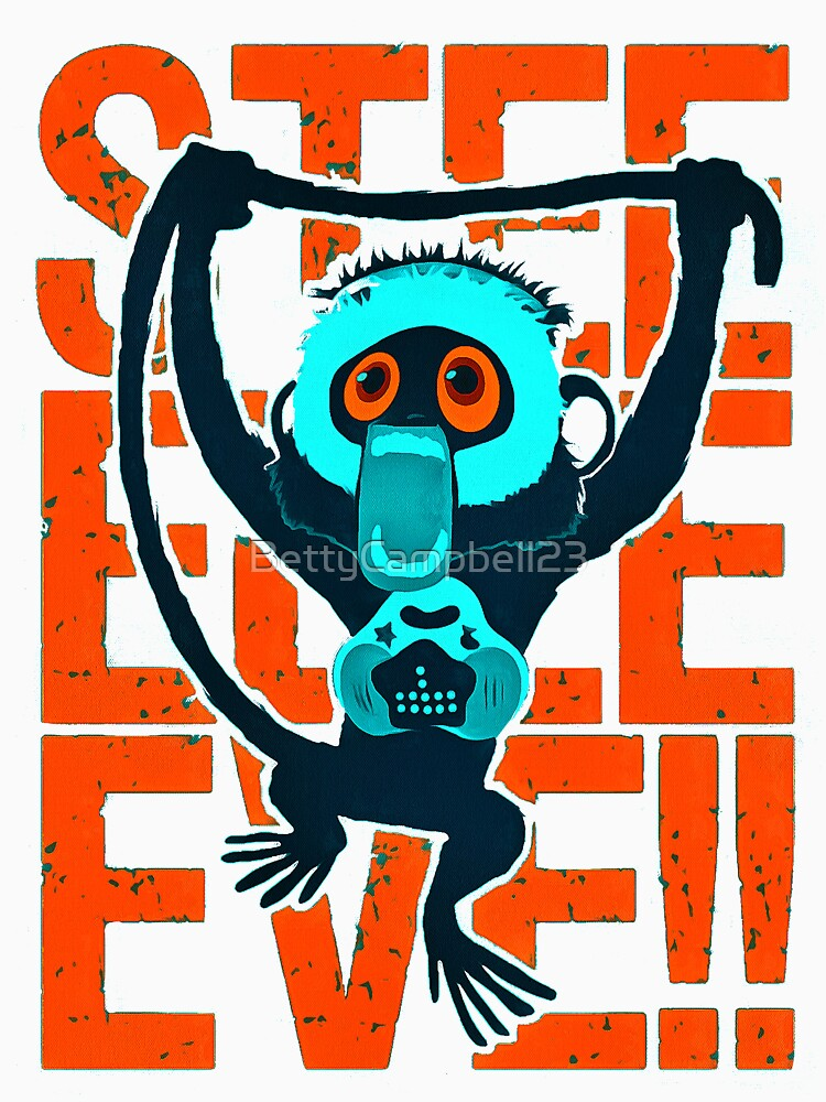 steve monkey by BettyCampbell23