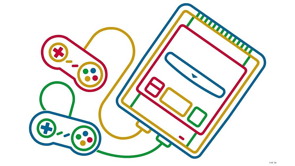 Super Famicom Boxart by 16TonPress