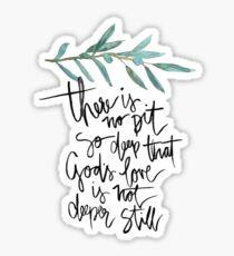 god's love Sticker
