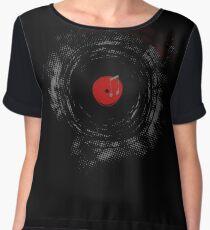 Vinyl Records Retro Grunge Women's Chiffon Top