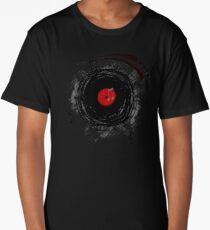 Vinyl Records Retro Grunge Long T-Shirt