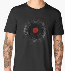 Vinyl Records Retro Grunge Men's Premium T-Shirt