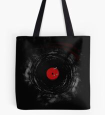 Vinyl Records Retro Grunge Tote Bag