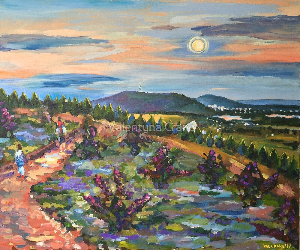 Forest 49 Purple-Leafed Smokebush by Valentyna Crane