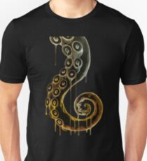 Midnight Spiral Tentacle T-Shirt