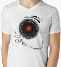 Vinylized! - Vinyl Records  Men's V-Neck T-Shirt