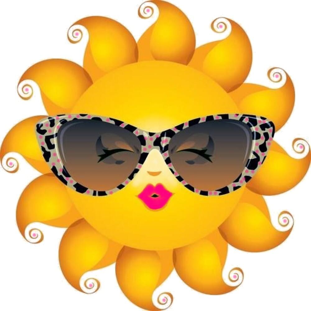 smiley sun hot lips by Bizzart