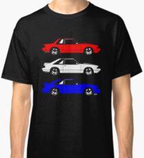Ford Mustang Fox Côté du corps T-shirt classique