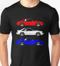 Ford Mustang Fox Body Side T-Shirt