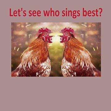 vamos ver quem canta melhor? by gilsonsoliveira