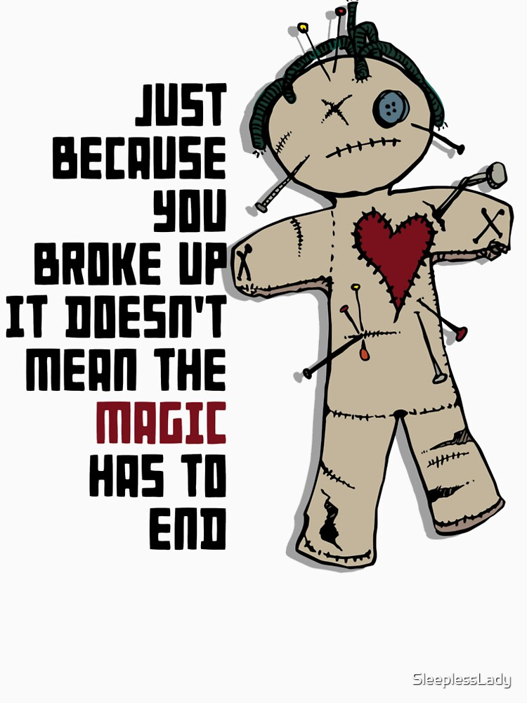 the magic, voodoo doll  by SleeplessLady