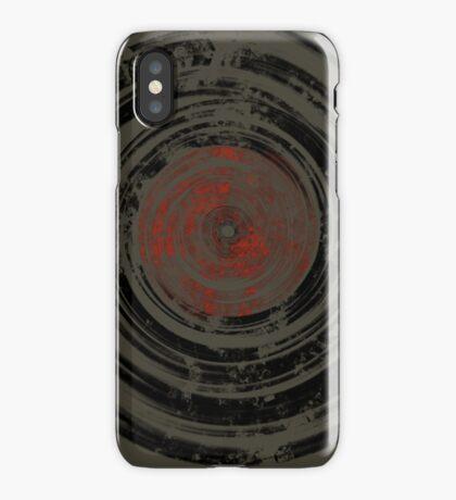 Old Vinyl Records Urban Grunge iPhone Case/Skin