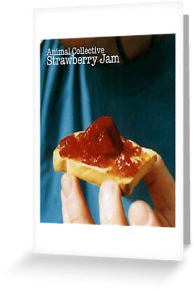 Animal Collective- Strawberry Jam Alternative Artwork by atphillips