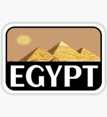EGYPT VINTAGE TRAVEL LUGGAGE TOURIST PYRAMIDS CAIRO NILE Sticker