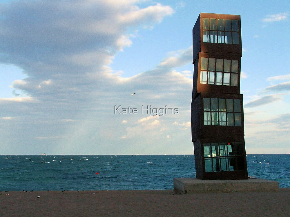 Stacked in Barceloneta by Kate Higgins