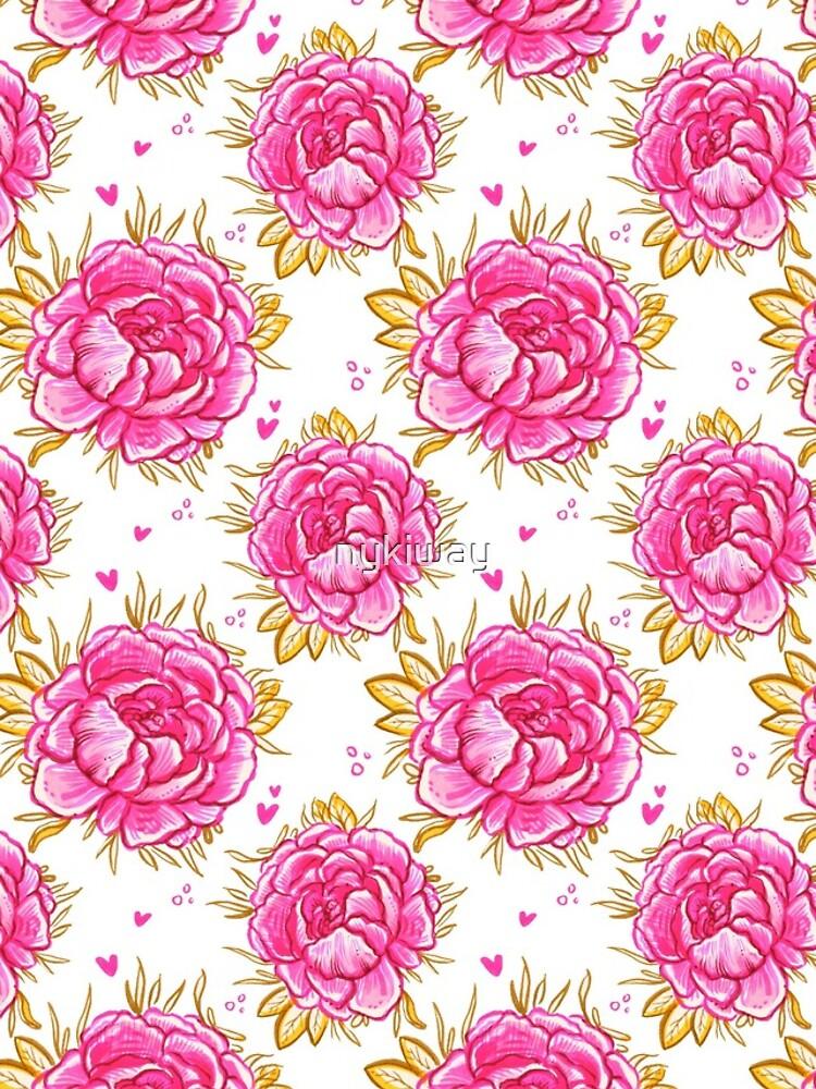 Marina's Pink Peony  by nykiway