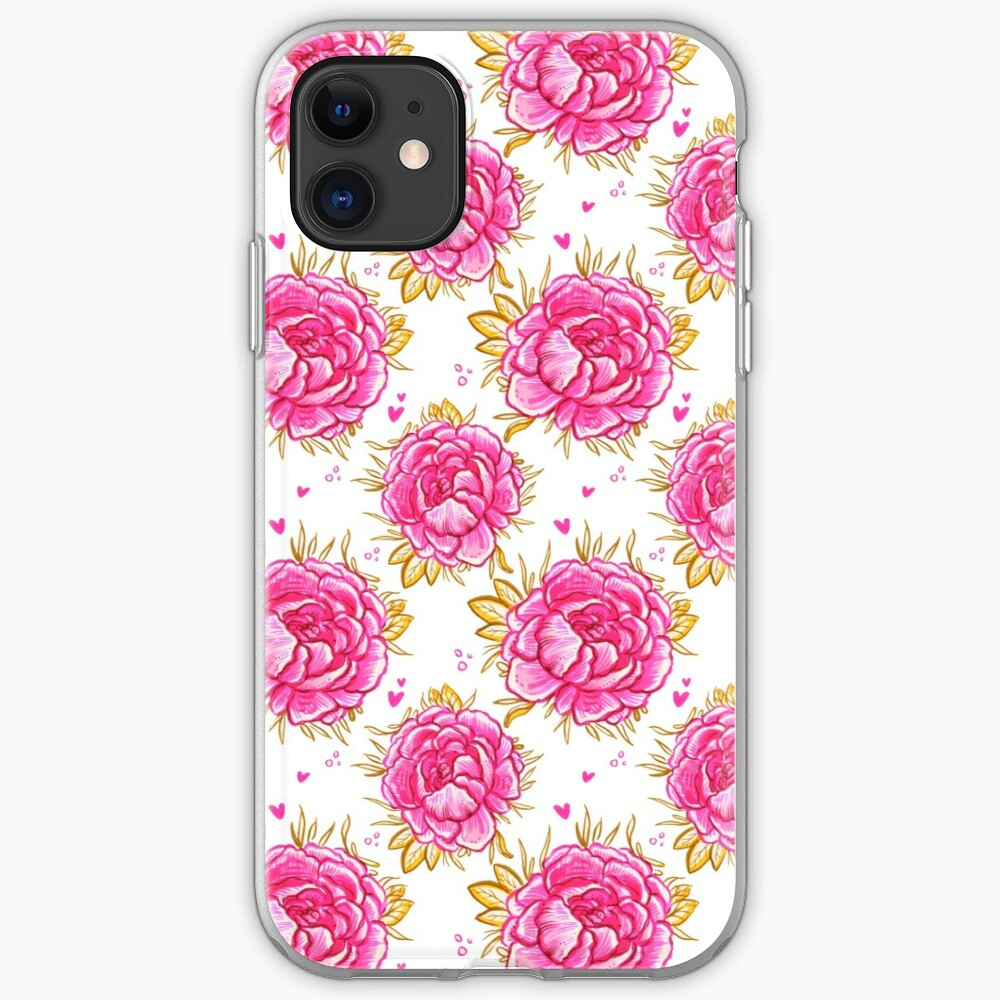 Marina's Pink Peony  iPhone Case & Cover