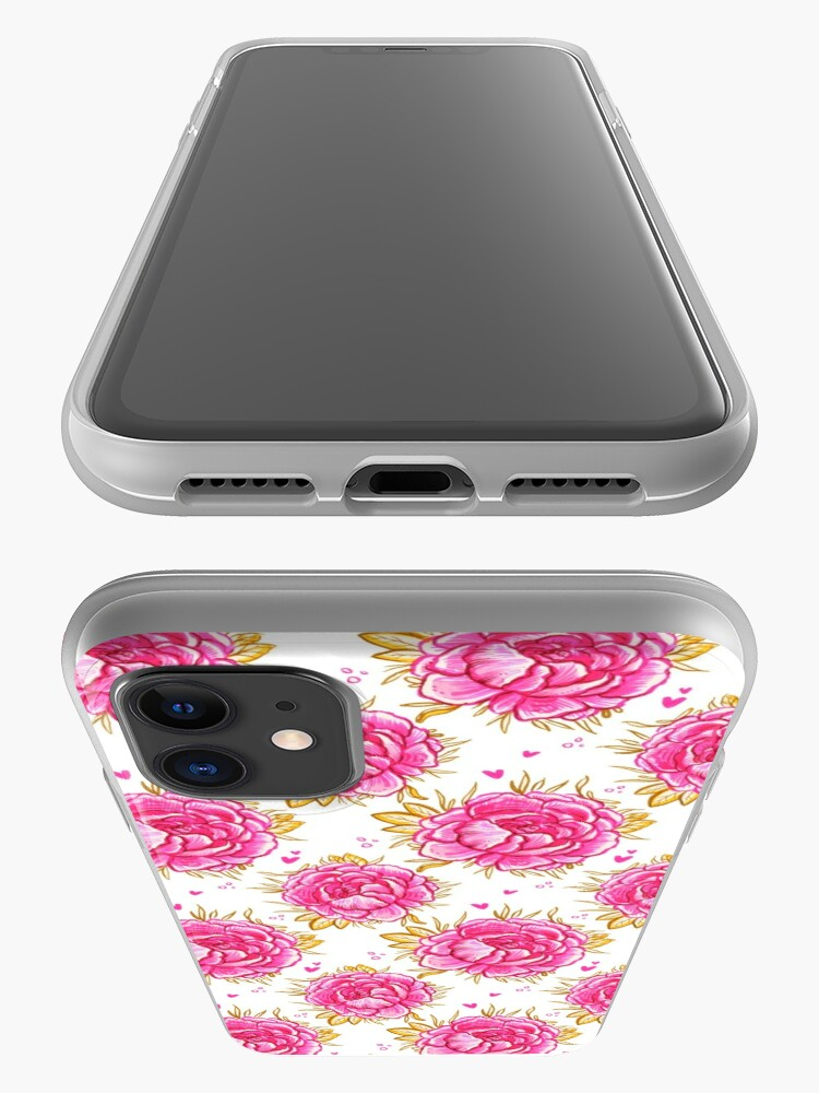 Alternate view of Marina's Pink Peony  iPhone Case & Cover