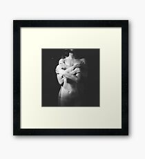 """Hugs (From """"Mystery of Twins"""" series) Framed Print"""