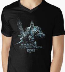 Lich King's Command Men's V-Neck T-Shirt