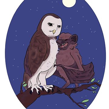 Nocturnal Pals by robotroyalty