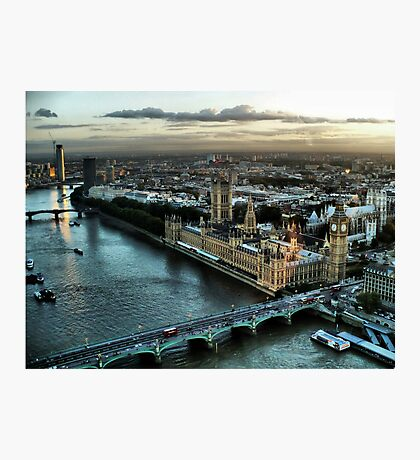 London - Palace Of Westminster Photographic Print