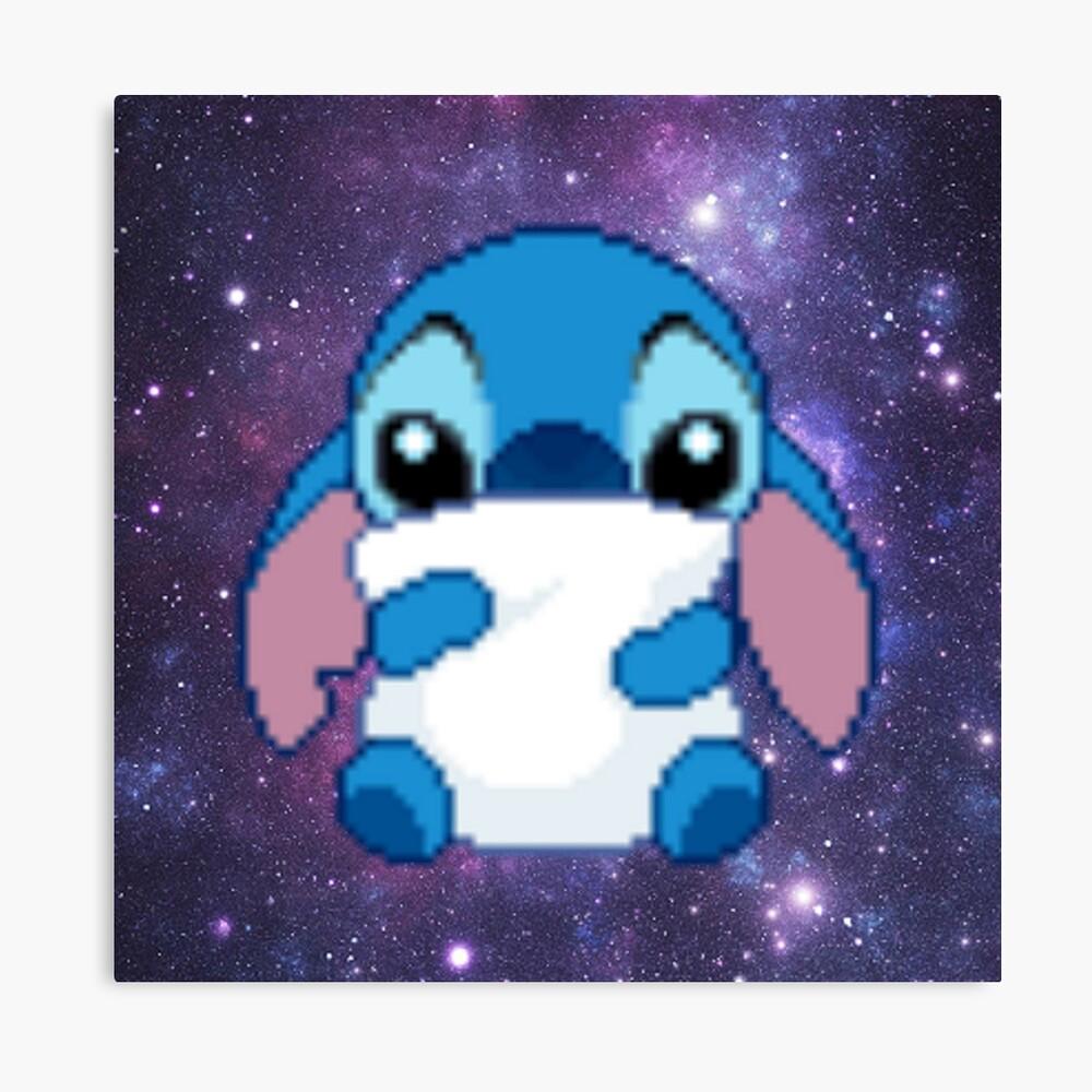 Cute Pixel Stitch Photographic Print By Hunter Nerd Redbubble