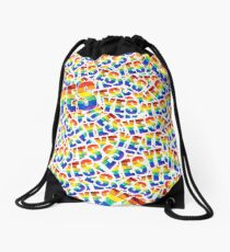 We say YES! Drawstring Bag