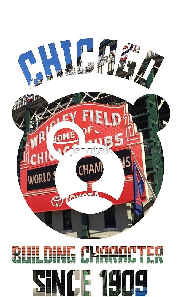 Chicago Cubs by Jennifer  Talken