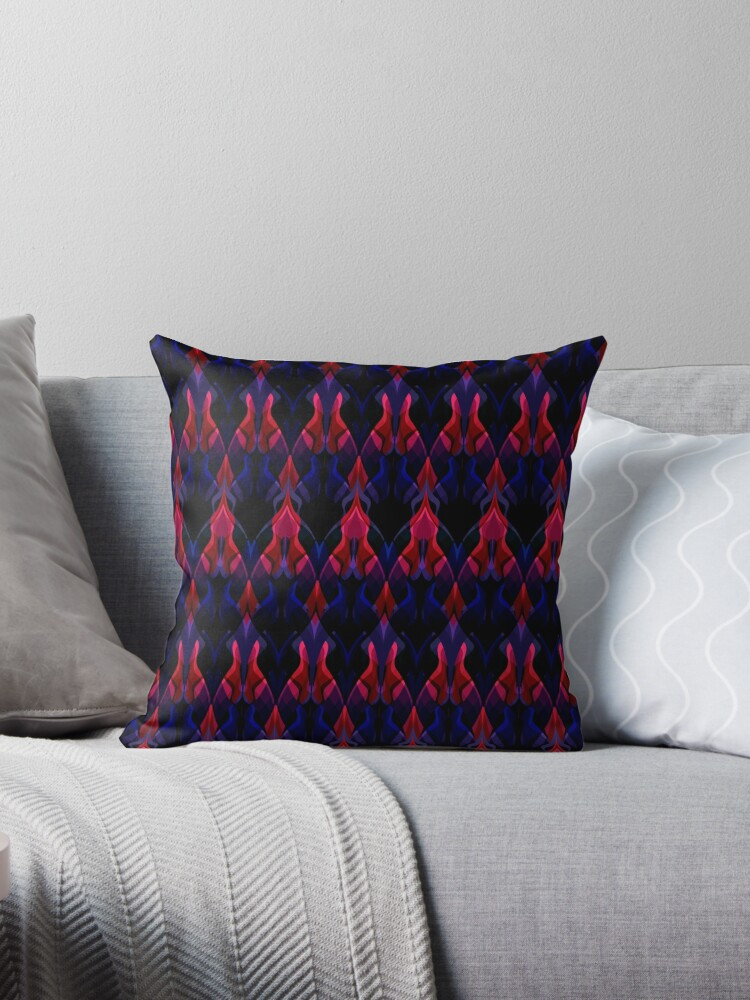 Red blue zigzag pattern  by fuzzyfox