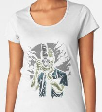 Zombie Photographer Women's Premium T-Shirt
