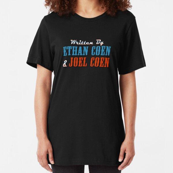 The Big Lebowski | Written by Ethan Coen & Joel Coen Slim Fit T-Shirt