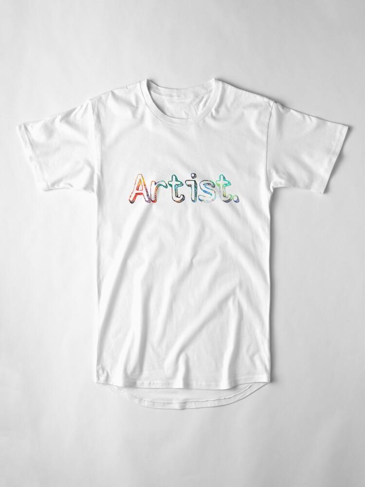 Alternative Ansicht von Künstler Art Painter Geschenk Longshirt