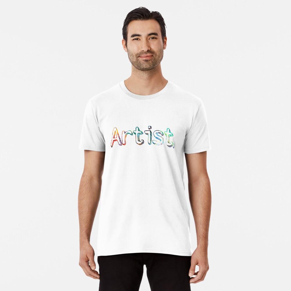 Künstler Art Painter Geschenk Premium T-Shirt