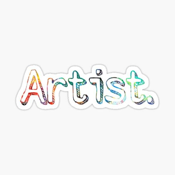 Artist Art Painter Gift  Sticker