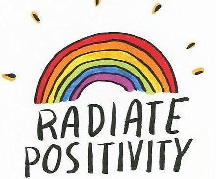 radiate positivity by jennykeough