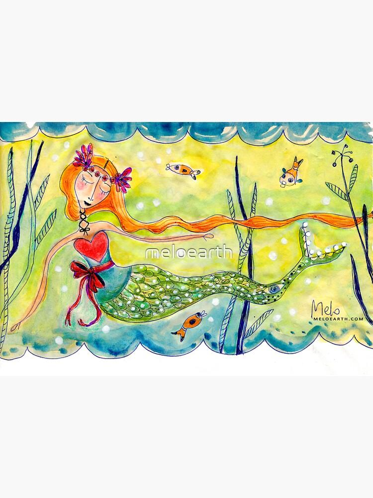 Love Mermaid by meloearth