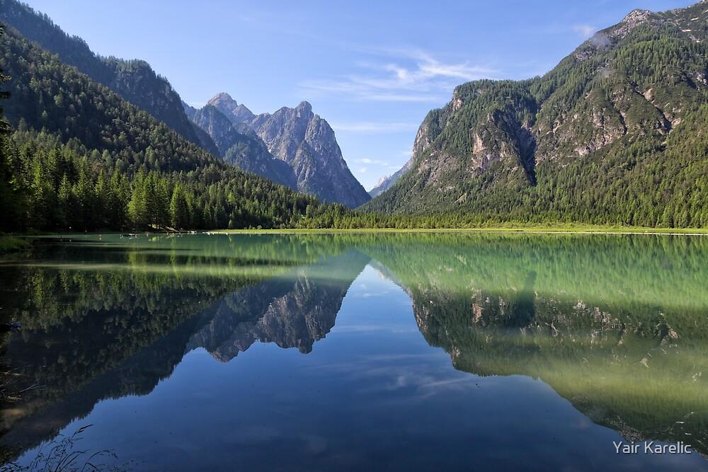 Lake Dobbiaco, South Tyrol, Italy by Yair Karelic