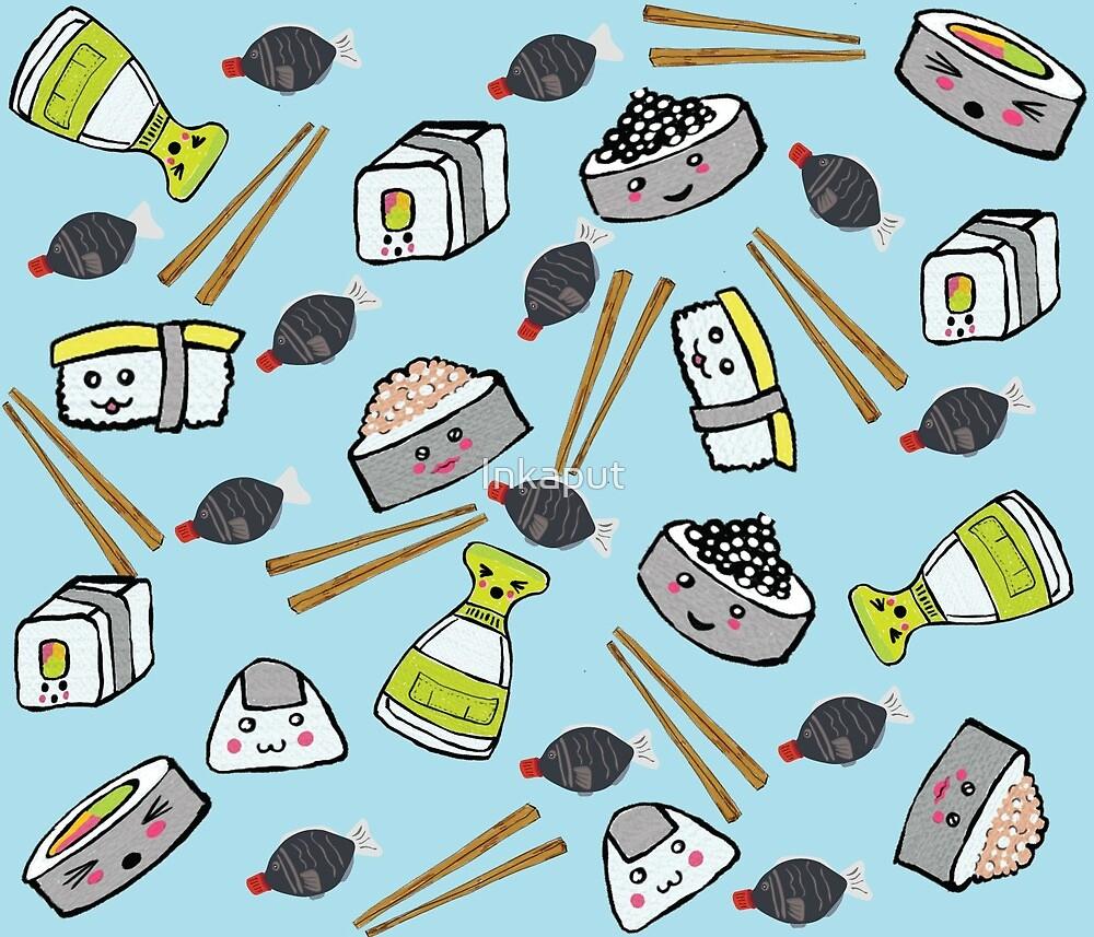 Shishi's Sushi  by Inkaput