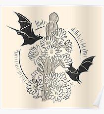 Night Bloom - Bat Poster