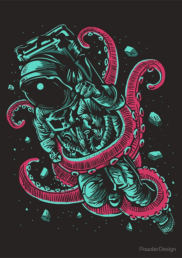 Attack of the Octopus! by PowderDesign