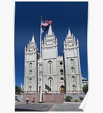 Salt Lake Temple Poster