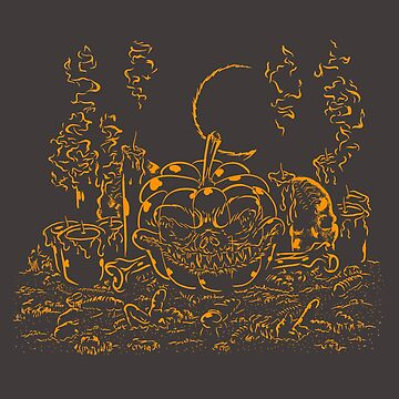 The Dark Pumpkin by DanielDaWhite