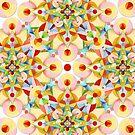 Pastel Mandala II by PatriciaSheaArt