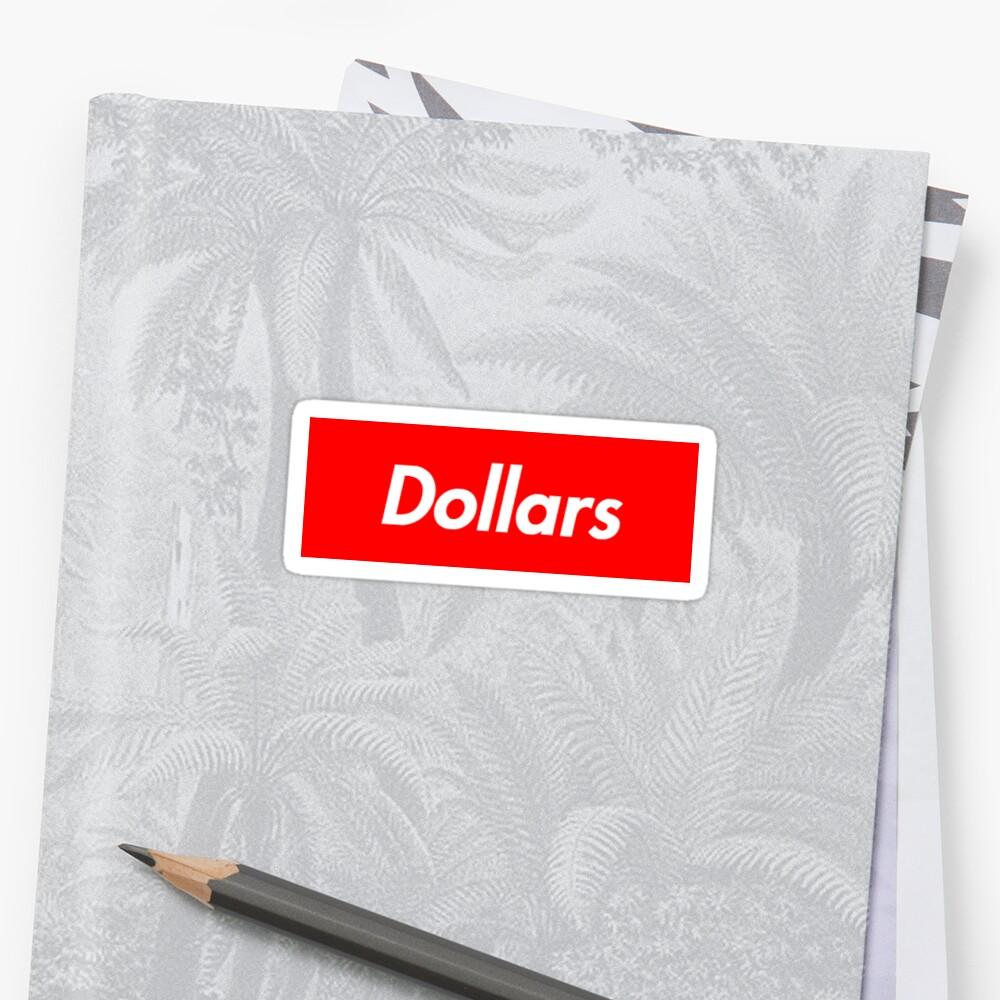 Dollars Sticker by Mstorm126