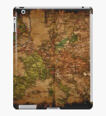 Map of Europe 1740 iPad Case/Skin