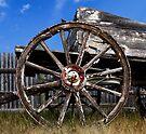 Old Wagon Wheel by Alex Preiss