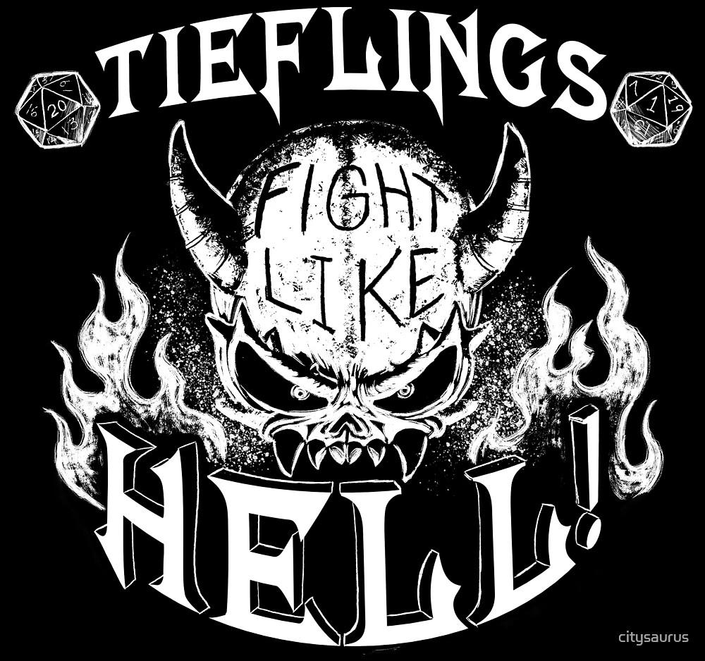 Tieflings by citysaurus