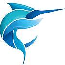 Black Marlin Blog - Full colour logo by blackmarlinblog