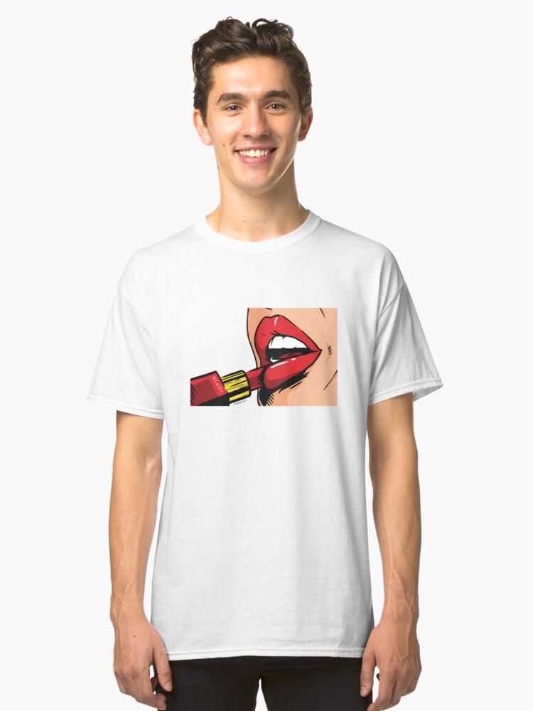 Illality Lipstick Classic T-Shirt Front